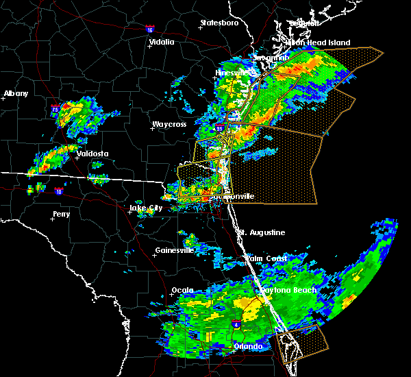 Radar Image for Severe Thunderstorms near Palm Valley, FL at 5/13/2017 4:46 PM EDT