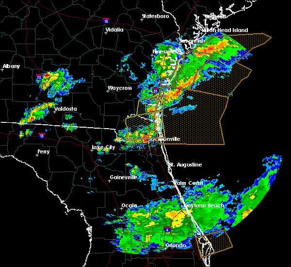 Radar Image for Severe Thunderstorms near Jacksonville, FL at 5/13/2017 4:46 PM EDT