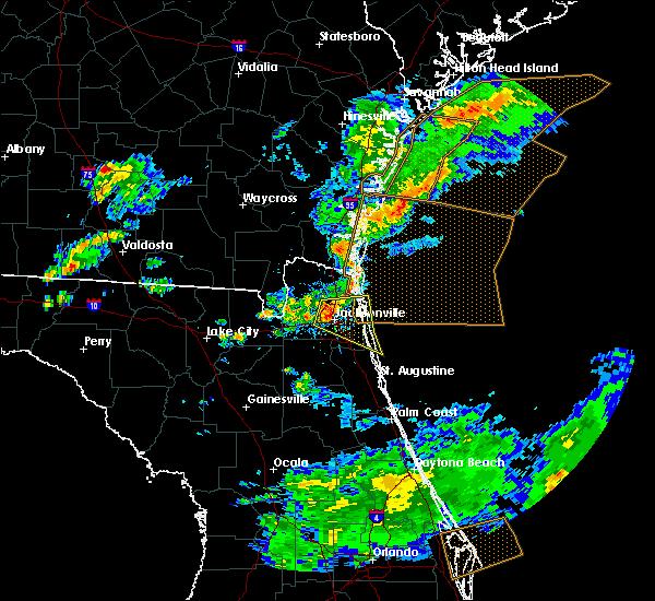 Radar Image for Severe Thunderstorms near Jacksonville, FL at 5/13/2017 4:49 PM EDT