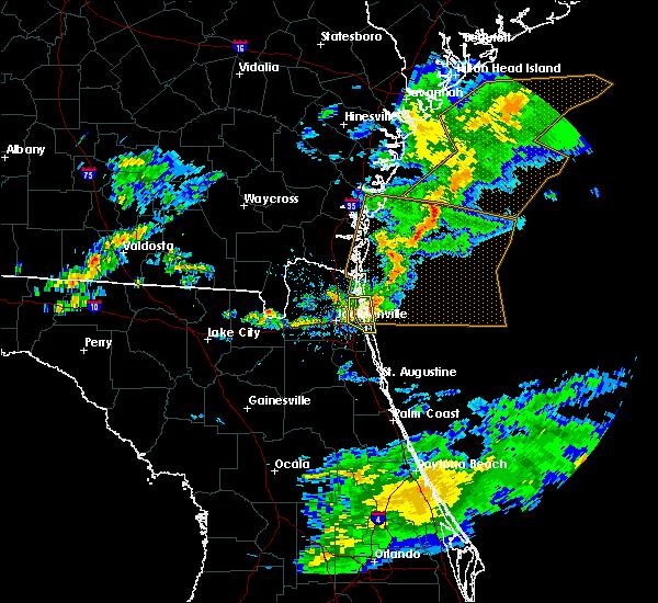 Radar Image for Severe Thunderstorms near Jacksonville, FL at 5/13/2017 5:16 PM EDT