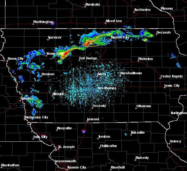 Garner Iowa Map.Interactive Hail Maps Hail Map For Garner Ia