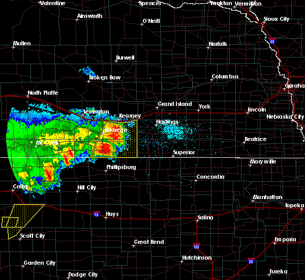 Radar Image for Severe Thunderstorms near Hildreth, NE at 5/15/2017 8:25 PM CDT