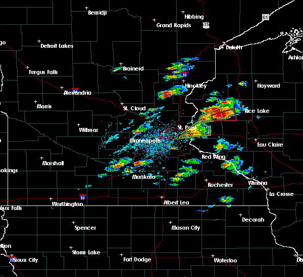 Radar Image for Severe Thunderstorms near Turtle Lake, WI at 5/16/2017 4:43 PM CDT