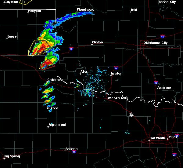 Radar Image for Severe Thunderstorms near Quail, TX at 5/16/2017 5:15 PM CDT