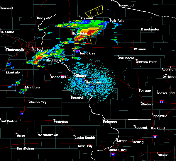 Radar Image for Severe Thunderstorms near New Auburn, WI at 5/16/2017 6:19 PM CDT