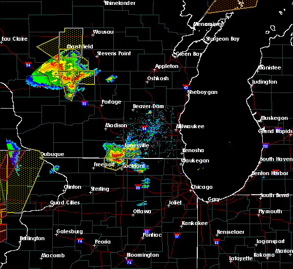 Radar Image for Severe Thunderstorms near Janesville, WI at 5/17/2017 6:34 PM CDT