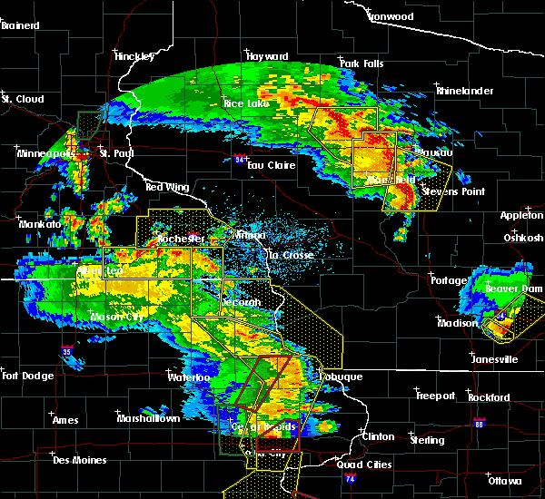 Radar Image for Severe Thunderstorms near Fountain, MN at 5/17/2017 7:14 PM CDT