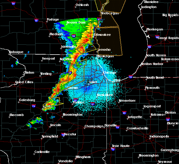 Radar Image for Severe Thunderstorms near Yorkville, IL at 5/17/2017 11:03 PM CDT