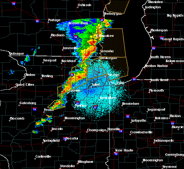 Radar Image for Severe Thunderstorms near Round Lake, IL at 5/17/2017 11:23 PM CDT