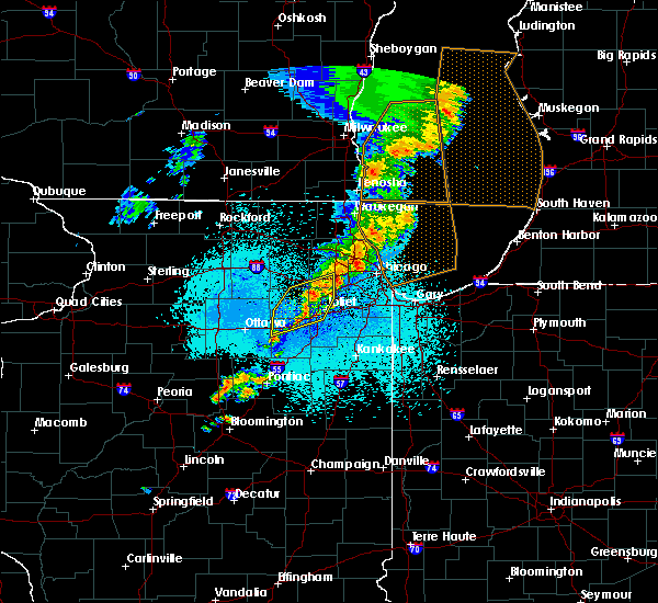 Radar Image for Severe Thunderstorms near Lockport, IL at 5/18/2017 12:17 AM CDT