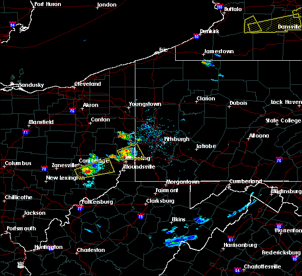Radar Image for Severe Thunderstorms near Paris, PA at 5/18/2017 4:02 PM EDT