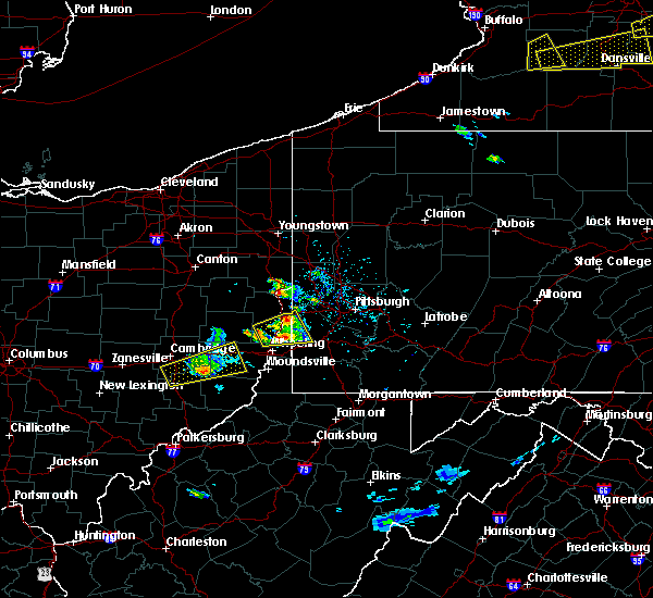 Radar Image for Severe Thunderstorms near Bradford Woods, PA at 5/18/2017 4:10 PM EDT