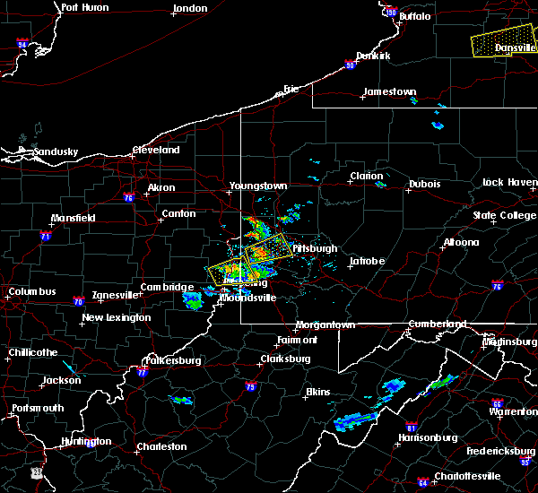 Radar Image for Severe Thunderstorms near Bradford Woods, PA at 5/18/2017 4:30 PM EDT