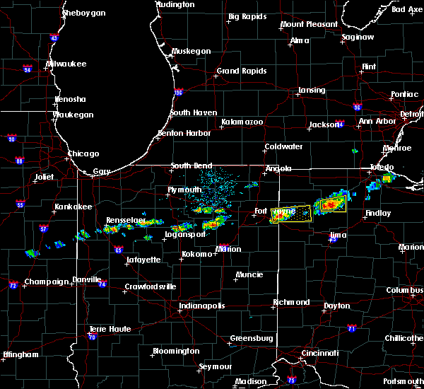 Radar Image for Severe Thunderstorms near Malinta, OH at 5/18/2017 5:01 PM EDT