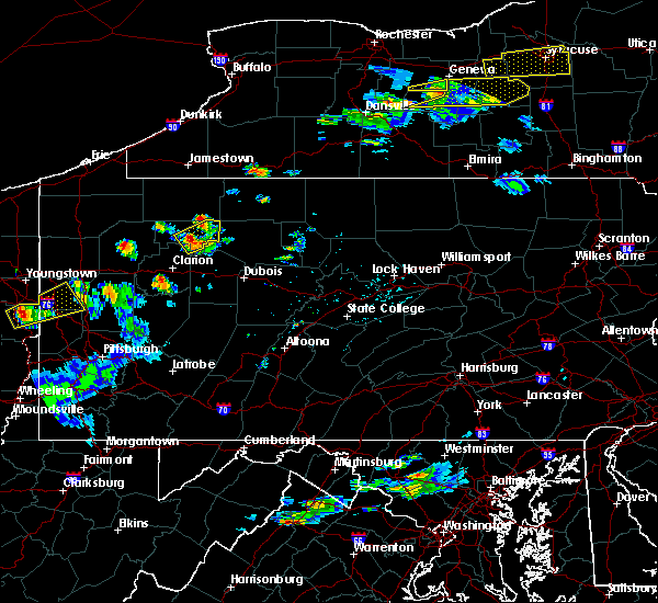 Radar Image for Severe Thunderstorms near Crown, PA at 5/18/2017 5:15 PM EDT