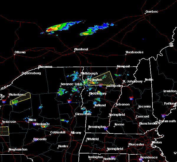 Radar Image for Severe Thunderstorms near South Burlington, VT at 5/18/2017 5:36 PM EDT