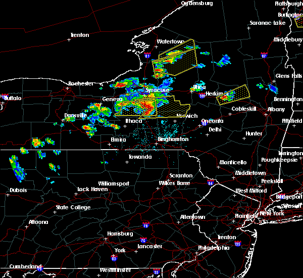 Radar Image for Severe Thunderstorms near Cortland West, NY at 5/18/2017 5:45 PM EDT