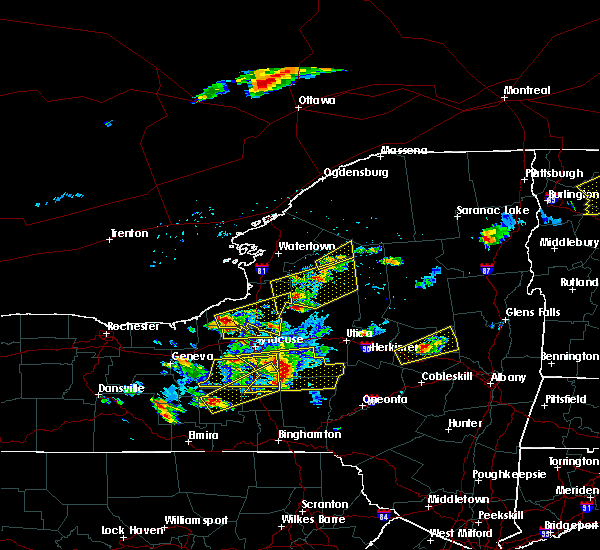 Radar Image for Severe Thunderstorms near Brewerton, NY at 5/18/2017 5:55 PM EDT
