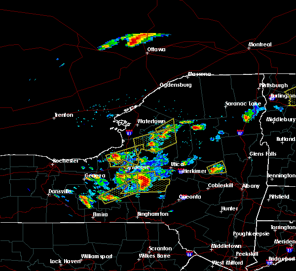 Radar Image for Severe Thunderstorms near Brewerton, NY at 5/18/2017 6:02 PM EDT