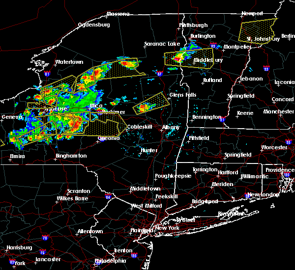 Radar Image for Severe Thunderstorms near Frankfort, NY at 5/18/2017 6:21 PM EDT