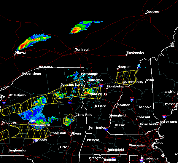 Radar Image for Severe Thunderstorms near Au Sable Forks, NY at 5/18/2017 6:35 PM EDT