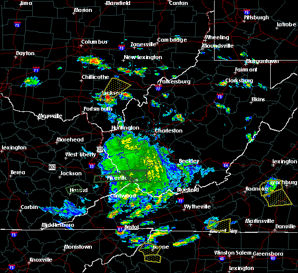 Radar Image for Severe Thunderstorms near Albany, OH at 5/19/2017 1:25 PM EDT