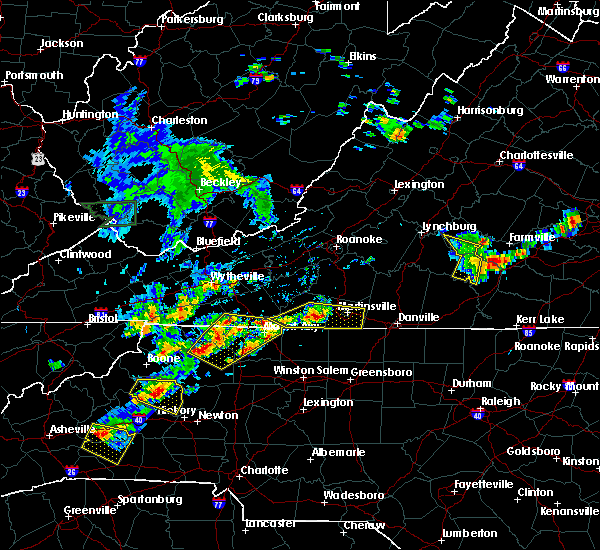 Radar Image for Severe Thunderstorms near Galax, VA at 5/19/2017 2:25 PM EDT
