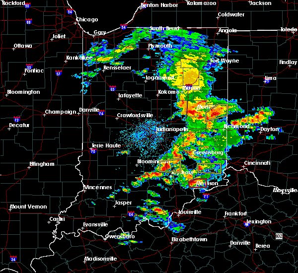 Radar Image for Severe Thunderstorms near Versailles, IN at 5/19/2017 3:03 PM EDT
