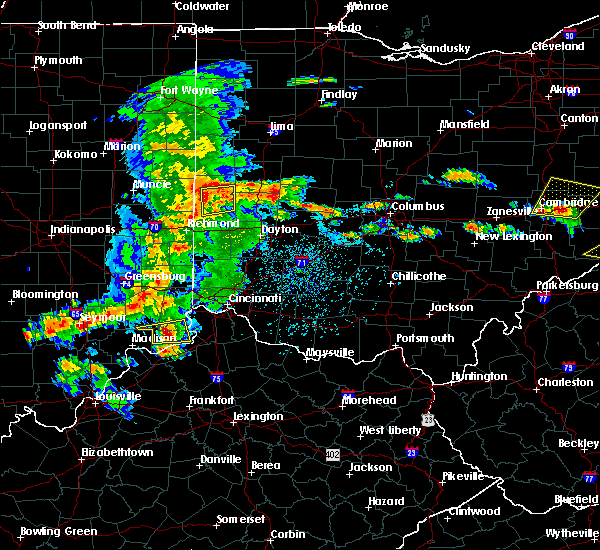 Radar Image for Severe Thunderstorms near Bradford, OH at 5/19/2017 3:41 PM EDT
