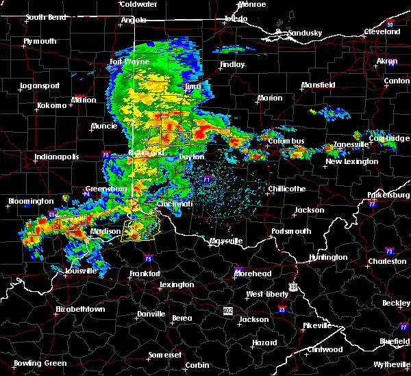 Radar Image for Severe Thunderstorms near Bradford, OH at 5/19/2017 4:10 PM EDT