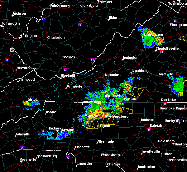 Radar Image for Severe Thunderstorms near Tobaccoville, NC at 5/19/2017 4:16 PM EDT