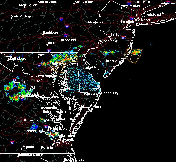 Radar Image for Severe Thunderstorms near Newark, DE at 5/19/2017 4:26 PM EDT