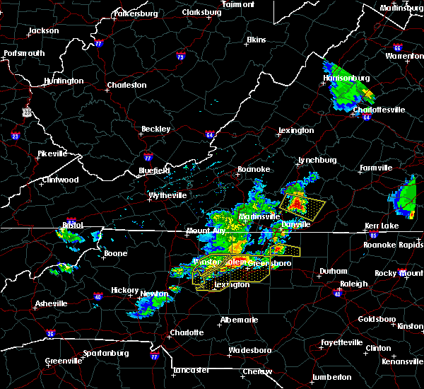Radar Image for Severe Thunderstorms near High Point, NC at 5/19/2017 4:26 PM EDT