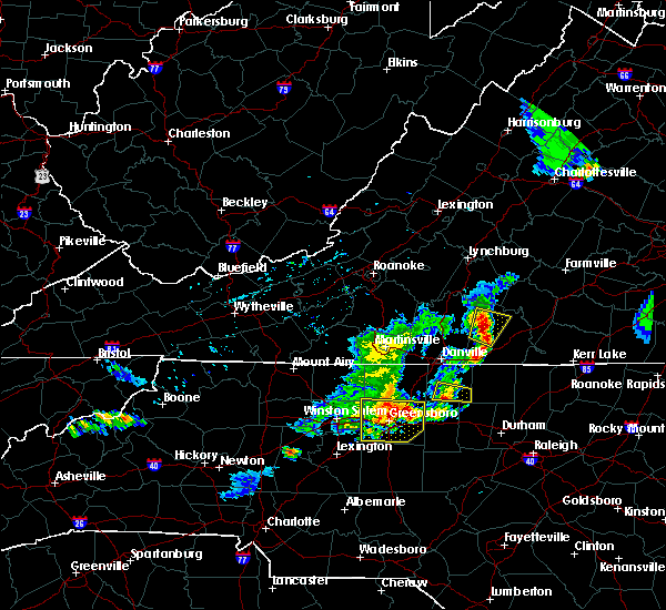 Radar Image for Severe Thunderstorms near Mountain Road, VA at 5/19/2017 4:43 PM EDT