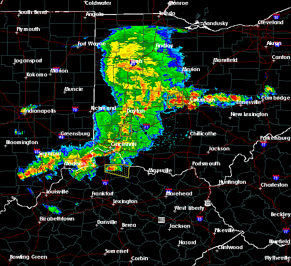 Radar Image for Severe Thunderstorms near Lebanon, OH at 5/19/2017 4:49 PM EDT