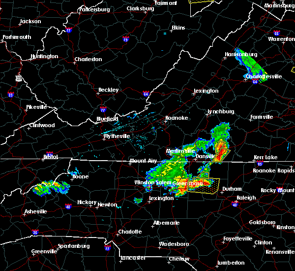 Radar Image for Severe Thunderstorms near Mountain Road, VA at 5/19/2017 5:03 PM EDT