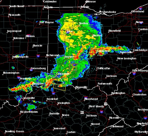Radar Image for Severe Thunderstorms near Clarksville, OH at 5/19/2017 5:06 PM EDT