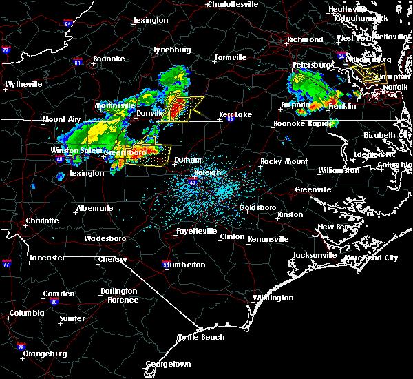 Radar Image for Severe Thunderstorms near Virgilina, VA at 5/19/2017 5:12 PM EDT