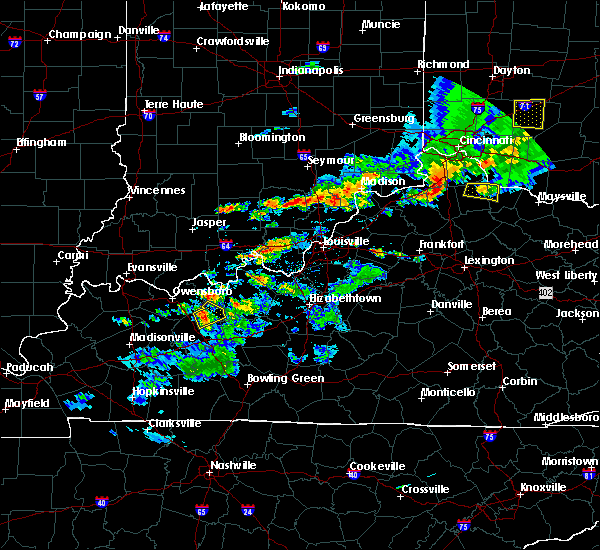 Radar Image for Severe Thunderstorms near Fordsville, KY at 5/19/2017 4:15 PM CDT