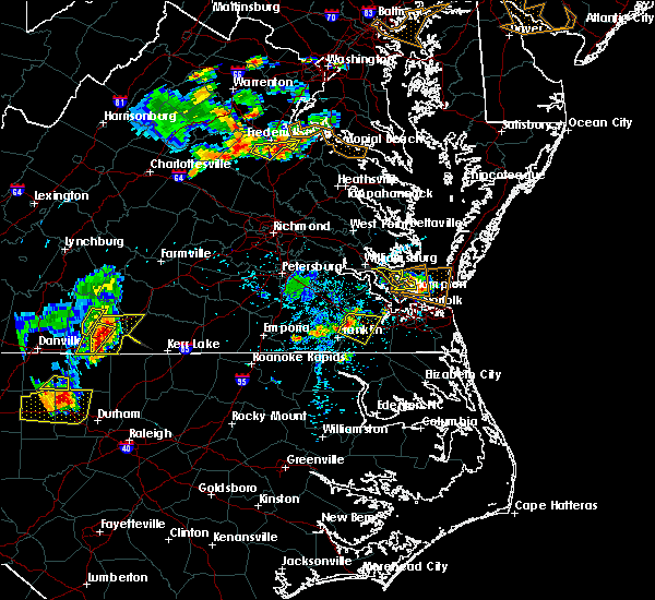 Radar Image for Severe Thunderstorms near Windsor, VA at 5/19/2017 5:16 PM EDT