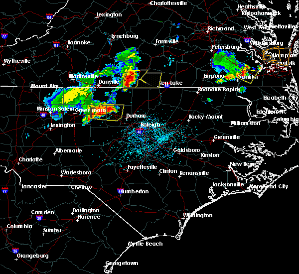 Radar Image for Severe Thunderstorms near Durham, NC at 5/19/2017 5:20 PM EDT