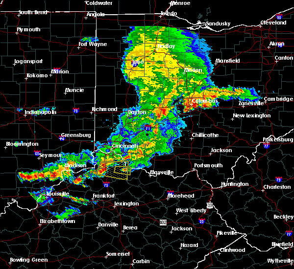 Radar Image for Severe Thunderstorms near Moscow, OH at 5/19/2017 5:23 PM EDT