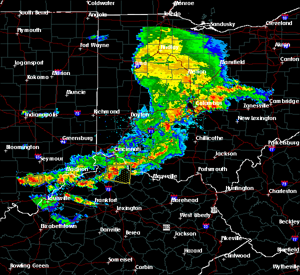 Radar Image for Severe Thunderstorms near Moscow, OH at 5/19/2017 5:36 PM EDT
