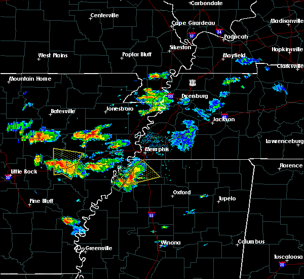 Radar Image for Severe Thunderstorms near Coldwater, MS at 5/19/2017 4:40 PM CDT