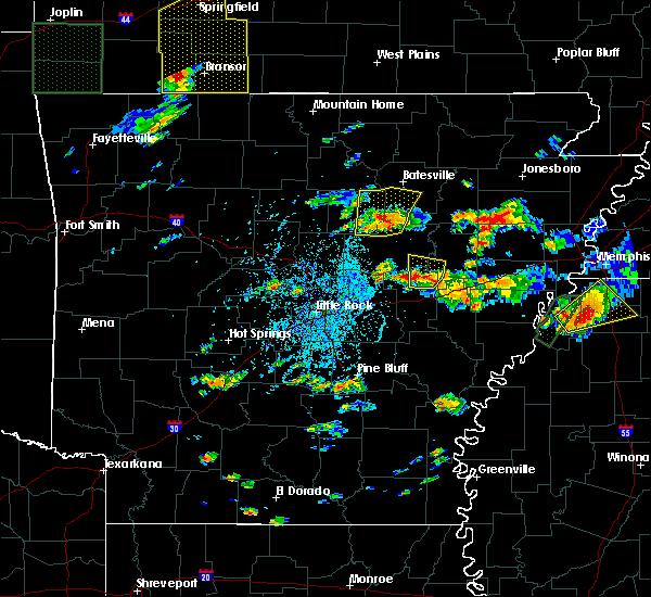 Radar Image for Severe Thunderstorms near Georgetown, AR at 5/19/2017 4:46 PM CDT