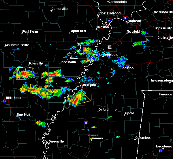 Radar Image for Severe Thunderstorms near Coldwater, MS at 5/19/2017 4:53 PM CDT