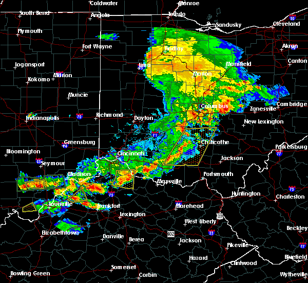Radar Image for Severe Thunderstorms near Good Hope, OH at 5/19/2017 5:53 PM EDT
