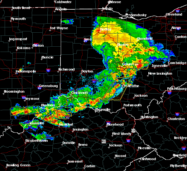 Radar Image for Severe Thunderstorms near Clarksburg, OH at 5/19/2017 6:04 PM EDT
