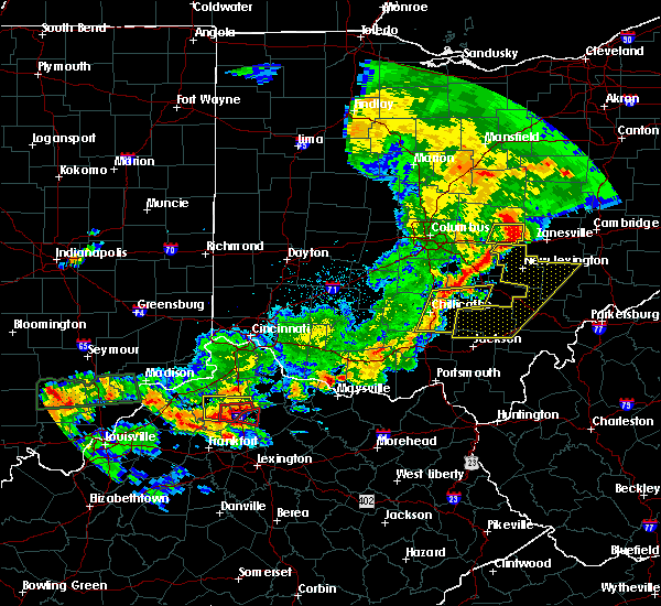 Radar Image for Severe Thunderstorms near Corinth, KY at 5/19/2017 6:21 PM EDT