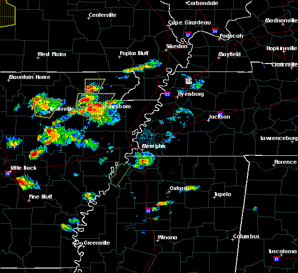 Radar Image for Severe Thunderstorms near Delaplaine, AR at 5/19/2017 5:44 PM CDT